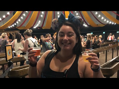 Walt Disney World Epcot 2019 Food and Wine Festival Food Vlog Review