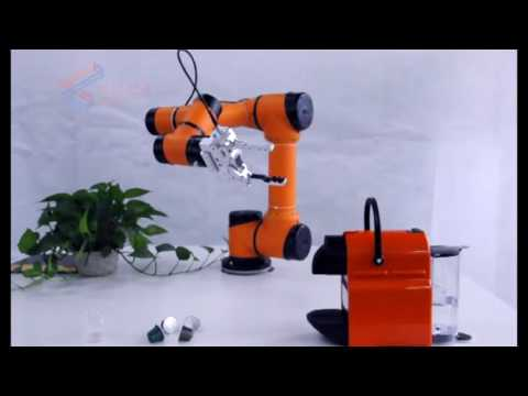 AUBO i5 Cobot Coffee-Tender