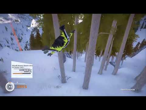 STEEP Wingsuit - Ubisoft Annecy Guest's dare - ranked #3 - 46K