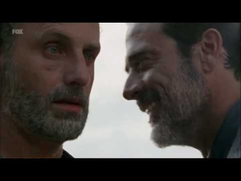 RICK SWALLOWS NEGANS DICK AND SAYS THANK YOU - Walking Dead Season 7 Episode 4