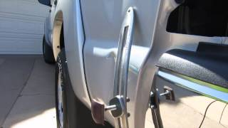 Flat Bar PDR Mini Tutorial (Tacoma Dent)