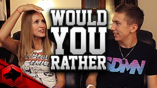 One of Fangs's most viewed videos: WOULD YOU RATHER W/ MY SON, MINIMINTER !!!