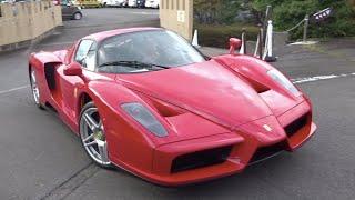 【フェラーリブランチ】エンツォ他、フェラーリ加速サウンド/Ferrari owners meeting in Japan. Accereration sound.