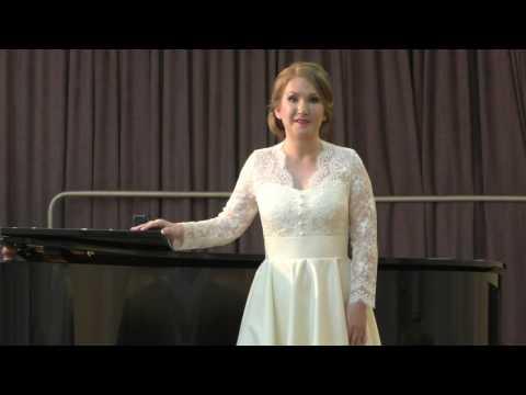 Татьяна Каштанова государственный экзамен по сольному пению