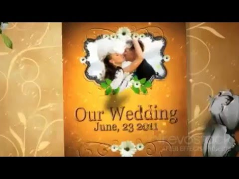 our precious wedding moments project for after effects revostock, Presentation templates