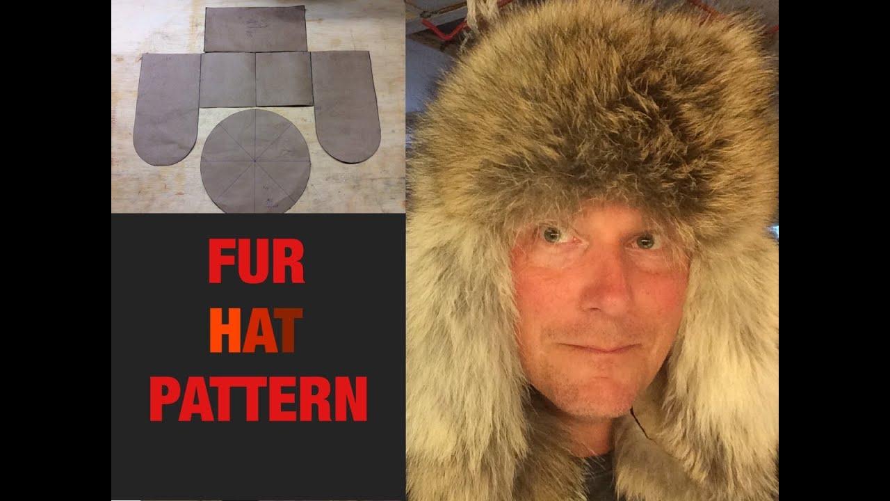 9884b1fe167e1 FUR HAT PATTERN - YouTube