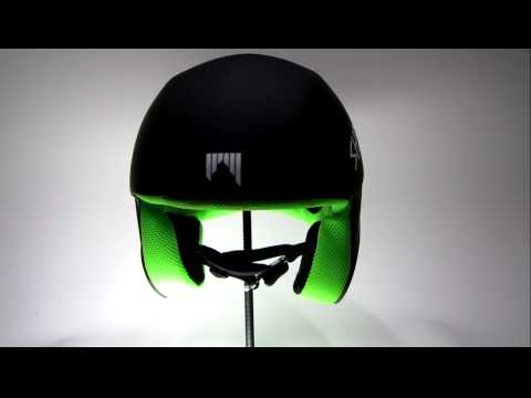 Shred Brain Bucket Race Helmet: The Schwartz Black (Green) : ARTECHSKI.com : 2009 Model Year