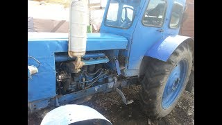 Ремонт трактора Т 40 пропал ход