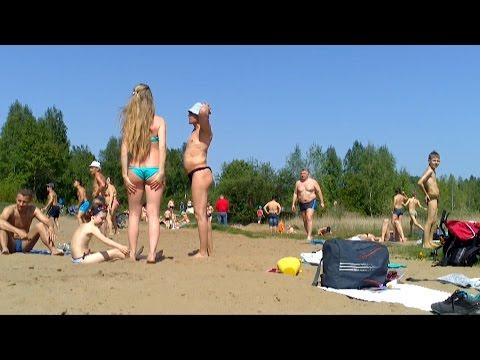 Torfyanka beach.18.05.14. Moscow Region Korolev Russia. Торфянка