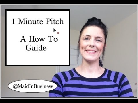 1 Minute Sales Pitch – A How To Guide
