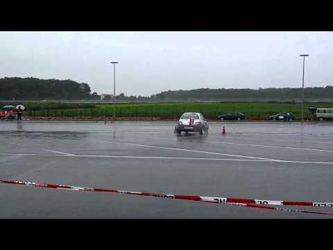 Clubslalom auf dem Aurea Autohof bei Rheda Wiedenbrück am 08.07.12