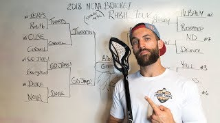 PAUL RABIL'S 2018 NCAA LACROSSE BRACKET