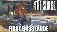 The Surge - First Boss (PAX) Guide - P.A.X Achievement/Trophy Tutorial (Secret)