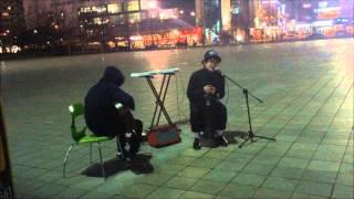 김건모-너에게 [제스처일산실용음악학원]버스킹영상