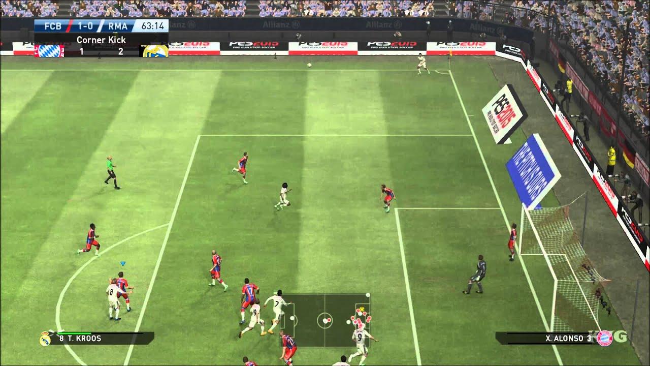 PES 2015 Gameplay (PC HD) [1080p]