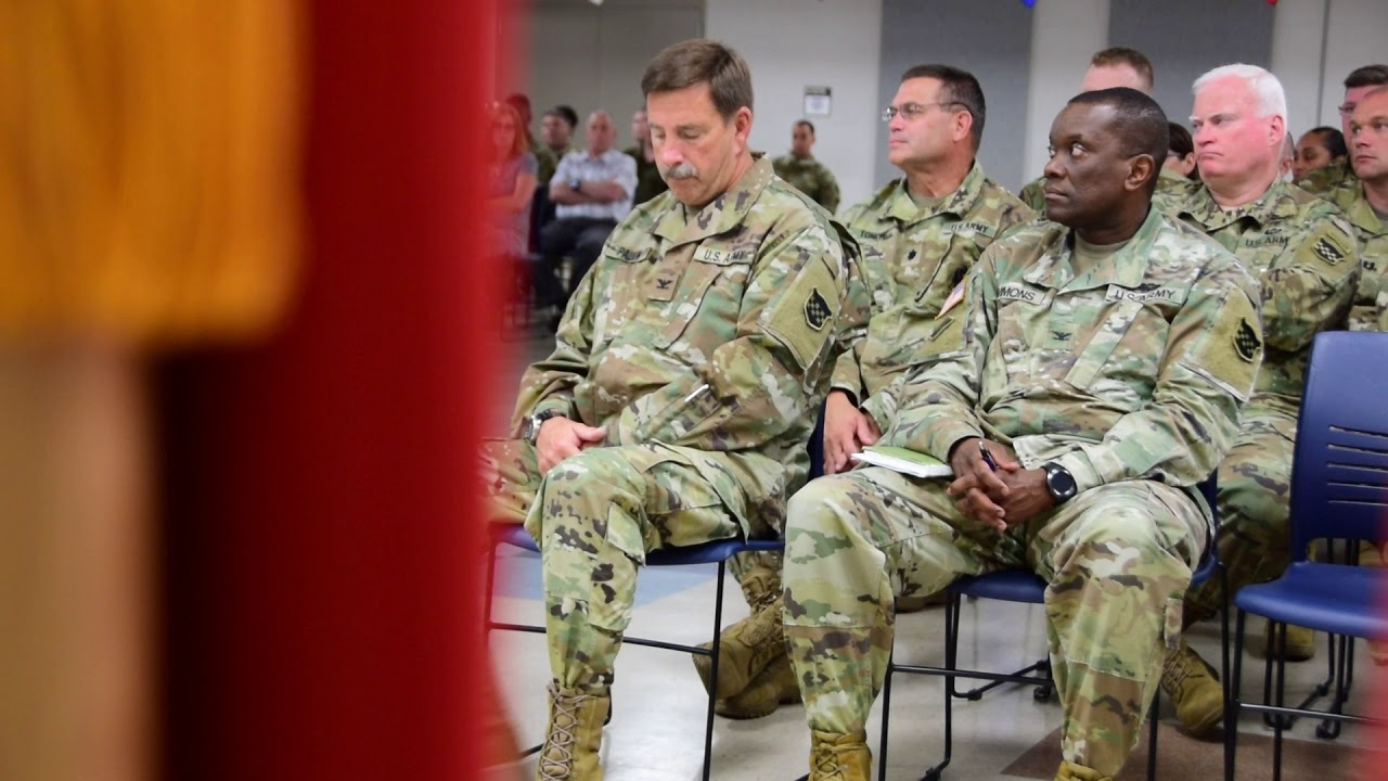 LTG Charles D. Luckey visits the 99th Readiness Division, June 7, 2019.