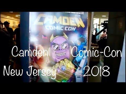 Camden/NJ Comic-Con - Çizgi Roman ve Oyuncak Fuari 2018