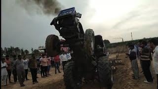 sonalikha 750 री इंट्री गूमड़ गाव मैं कैसा चला देखो स्पीड ट्रैक्टर की