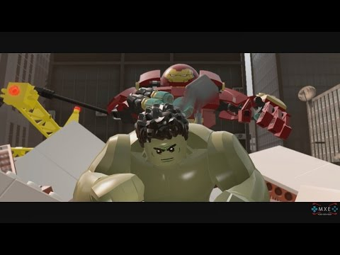 LEGO Marvel's Avengers - Stage 9: Anger Management Gameplay Walkthrough [1080p 60FPS HD]