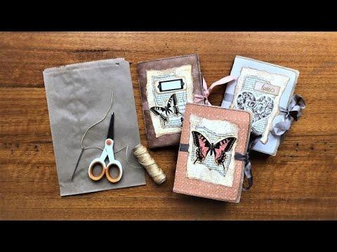 PAPER BAG Junk Journal TUTORIAL (Step-by-step DIY)