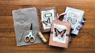 PAPER BAG Junk Journal TUTORIAL (Step-by-step DIY)