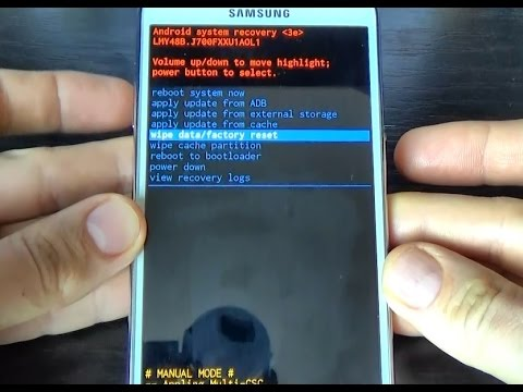 Samsung Galaxy J7 HARD RESET