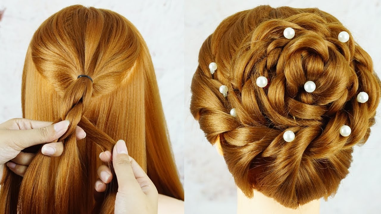 Easy Party Hairstyle 2019 For Girl Best Hairstyles For Long Hair Wedding Hairstyle Guest