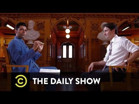 Thumbnail: Prime Minister Justin Trudeau Welcomes Syrian Refugees to Canada: The Daily Show