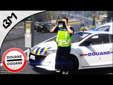 GTA 5 - LSPDFR - GENDARMERIE E.R.I - BRIGADE AUTOROUTE - DOUANES FRONTIÈRE - Patrouille 38