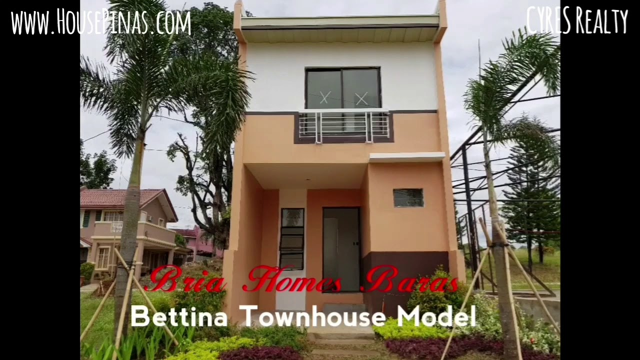 Bria Homes Baras Bettina Townhouse Pag Ibig House For Sale In Rizal Youtube