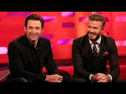 David Beckham's hairstyles  The Graham Norton : Series 16 Episode 20  BBC One