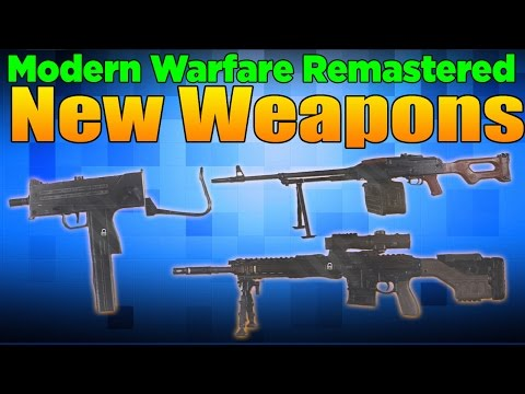 New Weapons in Modern Warfare Remastered: D-255, PKM, Mac-10 and More
