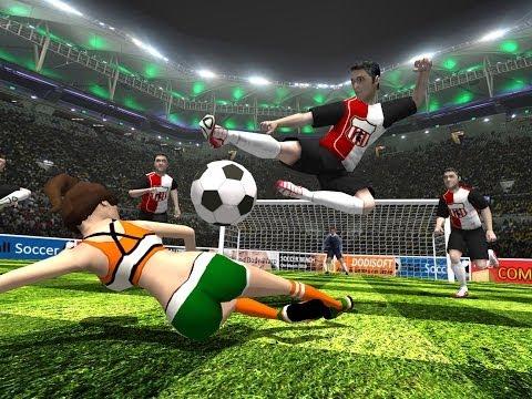 game soccer ball
