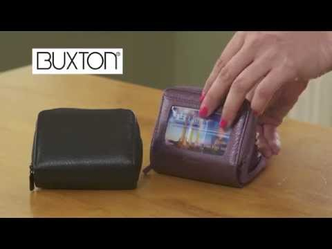 Buxton Palm Size Wallet With RFID Protection. Yes, It Really Exists!