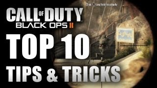 Call of Duty Black Ops 2 Top 10 Multiplayer Tips & Tricks Black Ops 2 Tips 360/PS3 Wii U Gameplay