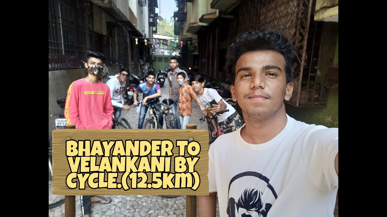 Download BHAYANDER TO VELANKANI BY CYCLE|12 .5KM|MEHUL SOLANKI VINES|