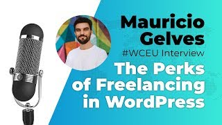Mauricio Gelves Interview About the Perks of Freelancing in WordPress