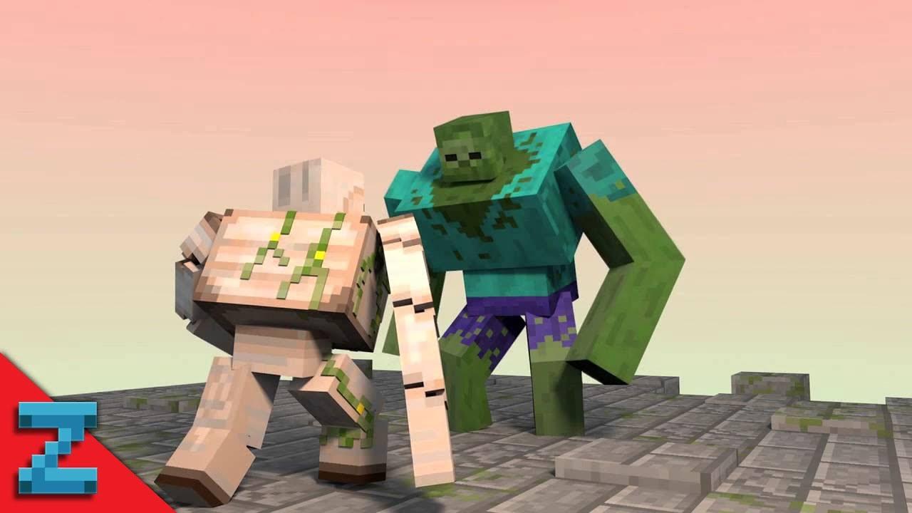 Картинки мутантов из майнкрафт