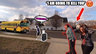 DROPPING OUT OF SCHOOL PRANK ON PARENTS! (THEY WERE SO MAD)