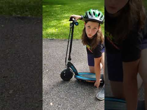 How To Use The Razor Power Core E100 Electric Scooter!!
