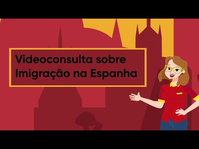 Solicitando uma videoconsulta sobre imigração na Espanha com a Espanha Fácil.