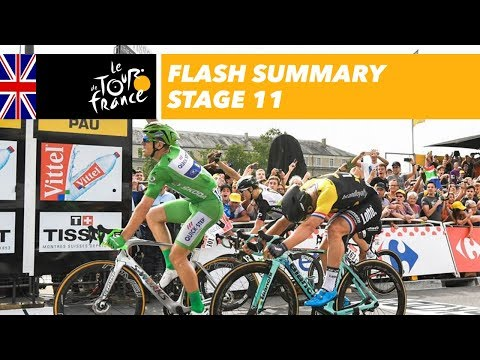 30 seconds sum-up - Stage 11 - Tour de France 2017