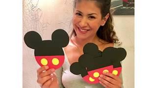 Tutorial de Invitación para Cumpleaños de Mickey