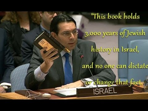 Danny Dannon Complete Smackdown of the Anti-Israel UN Resolution