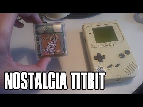 A Little Gameboy/Pokemon Nostalgia Titbit
