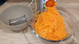Заготовка моркови при помощи мясорубки Philips/Быстрее терки в 10 раз!