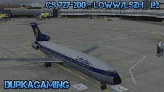 P3Dv3.2 - CS 727-200 Vienna/Zurich LOWW/LSZH - Part 2