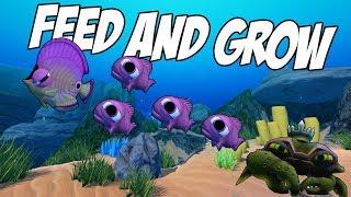 СОЗДАЛ СВОЮ СТАЮ, НАПАЛ КРАБ, ОБНОВЛЕНИЕ   Feed and Grow: Fish