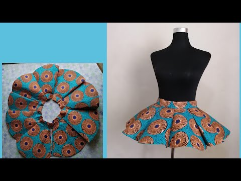 How To Sew Panelled Gore Flare Peplum Belt