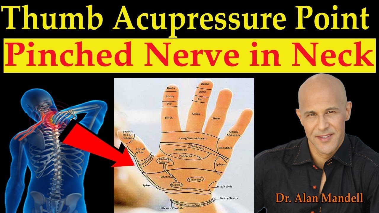Thumb Acupressure Point for Quick Relief of Pinched Nerve ...